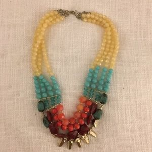 Anthropologie Bead Necklace